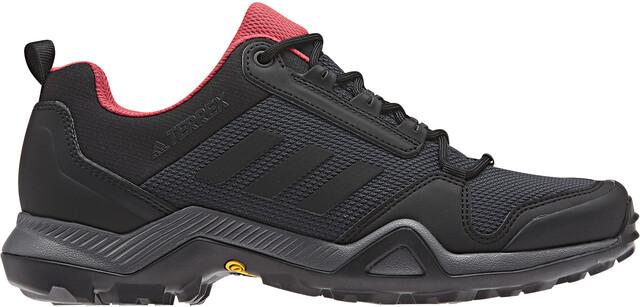 adidas TERREX AX3 Shoes Damen carbon/core black/active pink